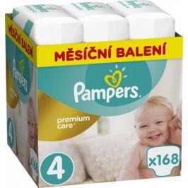 Pampers pieluchy Premium Care 4 (Maxi) - 168 szt.