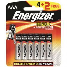 Energizer baterie MAX AAA 6 sztuk
