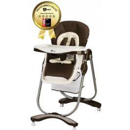 G-mini Krzesełko do karmienia Mambo, ciemnobrązowe