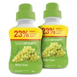 Sodastream Syrop białe winogrono 2x 750 ml