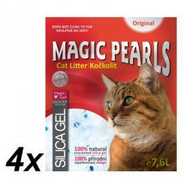 Magic żwirek dla kota Magic Pearls - 4 x 7,6 l