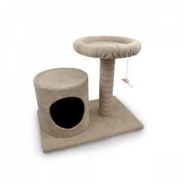 Argi drapak dla kota Palma beżowy