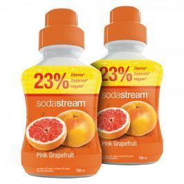 Sodastream Syrop różowy grapefruit 2x 750 ml