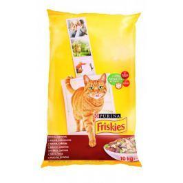 Friskies sucha karma dla kota Cat Adult z kurczakiem i warzywami - 10 kg