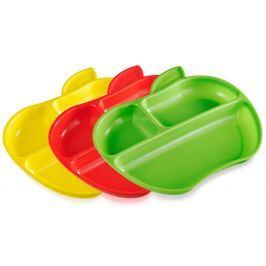 MUNCHKIN Kolorowe talerzyki w kształcie jabłka (3 szt.)