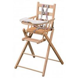 Candide Krzesełko do karmienia Combelle, Natural