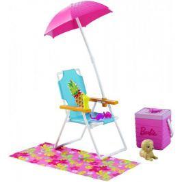 Mattel Akcesoria wypoczynkowe Zestaw plażowy DVX49