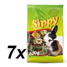 Akinu sucha karma dla króliki i świnki morskie - Sippy Deluxe - 7x400g