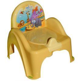 COSING Nocnik-krzesełko grający, żółty