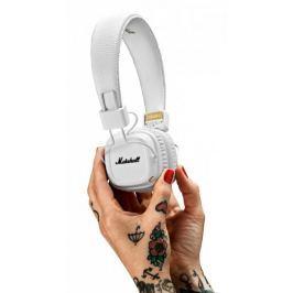 MARSHALL słuchawki bezprzewodowe Major II Bluetooth, białe