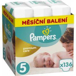 Pampers pieluchy Premium Care 5 (Junior) - 136 szt.
