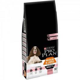 Purina Pro Plan Medium & Large Adult 7+ Sensitive Skin Optiderma 14kg