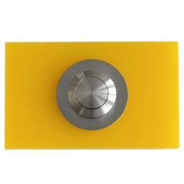 Przycisk dzwonka Max Knobloch Chester Poly żółty