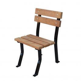 Krzesło ogrodowe Nelia Fiemar 48cm brązowe