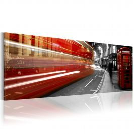 Obraz - London rush hour (120x40 cm)