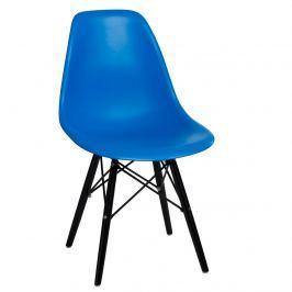 Krzesło 45x80x39 D2 P016W PP niebieskie
