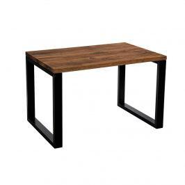 Stół Wooden 120x80 dąb szczotkow. czarny