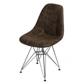Krzesło P016 DSR Pico D2 brązowe ciemne
