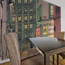 Fototapeta - Śniadanie w Paryżu (200x154 cm)