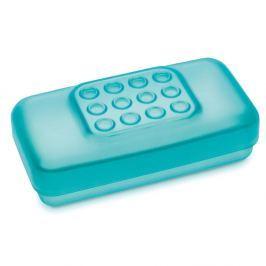 Pojemnik na plastry 11cm Koziol Get Well niebieski Pojemniki na biurko i wizytowniki