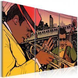 Obraz - Stolica jazzu - Nowy Jork (60x40 cm) Obrazy i plakaty