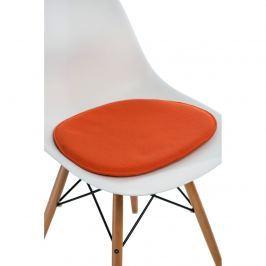 Poduszka na krzesło Side Chair pomarańcz Pozostałe artykuły wyposażenia wnętrz
