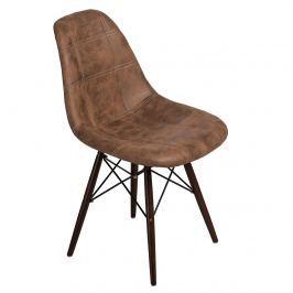 Krzesło P016W Pico D2 brązowe