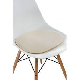 Poduszka na krzesło Side Chair ecru Pozostałe artykuły wyposażenia wnętrz