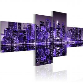 Obraz - Purple York (100x45 cm)