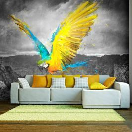Fototapeta - Exotic parrot (200x154 cm) Fototapety