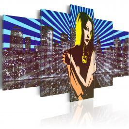 Obraz - Siła osobowości (100x50 cm) Obrazy i plakaty