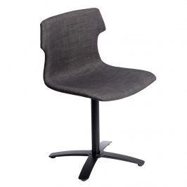 Krzesło D2 Techno One tapicerowane brązowe Krzesła i taborety