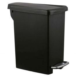 Kosz na śmieci 10 l pedałowy Simple Human SLIM czarny Kosze na śmieci
