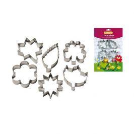 Foremki do ciastek Kwiaty i Liście 6szt 15646 Guardini  Formy do pieczenia