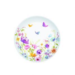 Talerz deserowy 19 cm Nuova R2S Romantic polne kwiaty