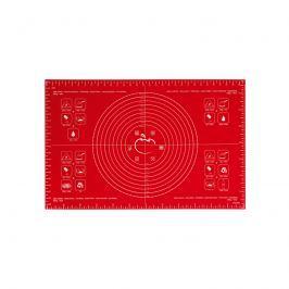 Stolnica silikonowa 40 x 60 cm Mastrad czerwona Maty i dywaniki łazienkowe