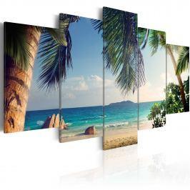 Obraz - Pod palmami (100x50 cm) Obrazy i plakaty