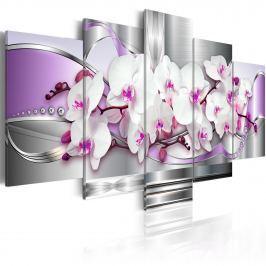 Obraz - Orchidea i fantazja (100x50 cm) Obrazy i plakaty