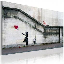 Obraz - Zawsze jest nadzieja (Banksy) (60x40 cm) Obrazy i plakaty