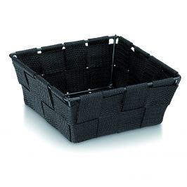 Koszyk łazienkowy 14 cm x 14 cm Kela Alvaro czarny