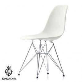 Krzesło King Bath Eames EPC DSR białe