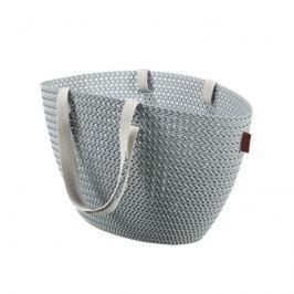 Koszyk na zakupy Emily Knit (szary) Curver Torby i torebki