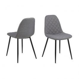 Krzesło Wilma Actona jasnoszare Krzesła i taborety