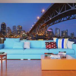 Fototapeta - Granville Bridge - Vancouver (Kanada) (550x270 cm) Fototapety