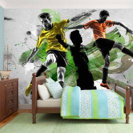 Fototapeta - Gwiazdy futbolu (450x280 cm) Fototapety
