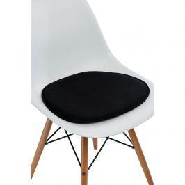 Poduszka na krzesło Side Chair czarna Pozostałe artykuły wyposażenia wnętrz