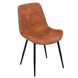 Krzesło Yoko D2 brązowe jasne Krzesła i taborety