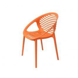 Krzesło King Bath Parilla pomarańczowe