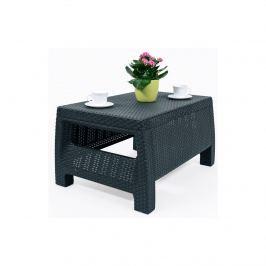 Stolik ogrodowy 77x42cm Corfu Curver grafit Meble ogrodowe i akcesoria