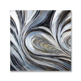 Obraz 60x60cm Artehome Srebrny Wiatr 1